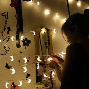 Crescent String Lights